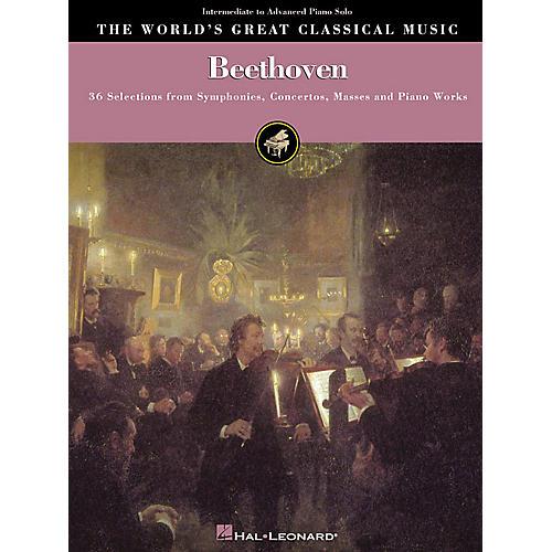 Hal Leonard Beethoven - Intermediate to Advanced Piano Solo World's Greatest Classical Music Series
