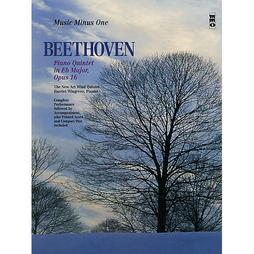 Music Minus One Beethoven -  Piano Quintet in E-flat Maj, Op 16 Music Minus One BK/CD by Ludwig van Beethoven-thumbnail