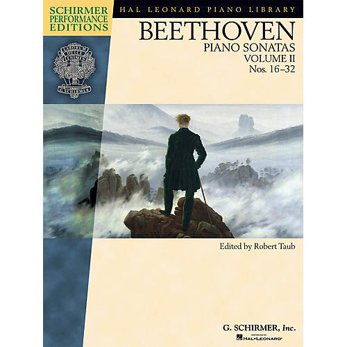 G. Schirmer Beethoven - Piano Sonatas, Volume II - Book Only Schirmer Performance Editions by Beethoven
