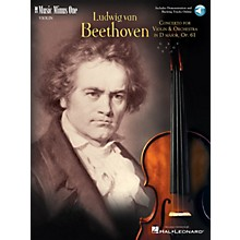 Music Minus One Beethoven - Violin Concerto in D Major, Op. 61 (2-CD Set) Music Minus One Series Softcover with CD