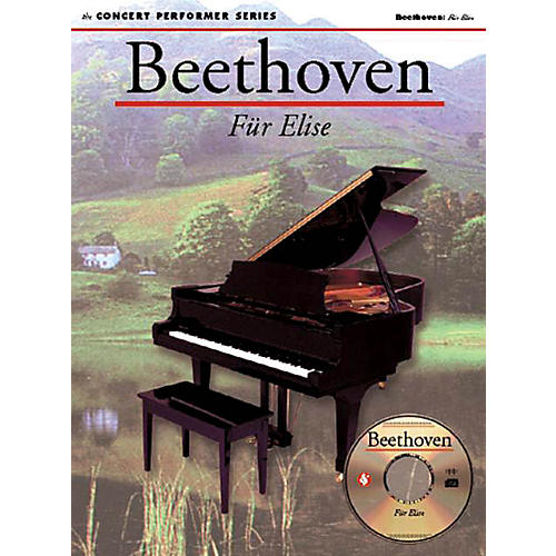 Music Sales Beethoven: Für Elise (Concert Performer Series) Music Sales America Series Softcover with disk