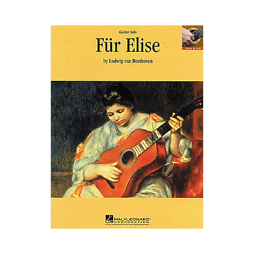 Hal Leonard Beethoven: Fur Elise Guitar Sheet Music Book
