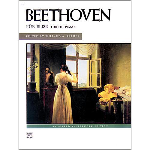 Alfred Beethoven Fur Elise Late Intermediate Piano Solo