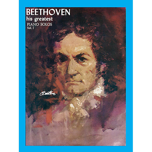 Ashley Publications Inc. Beethoven His Greatest Piano Solo Volume 1 His Greatest (Ashley) Series