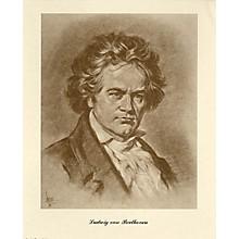 Music Sales Beethoven (Lupas Portrait Poster) Music Sales America Series