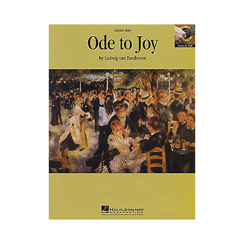 Hal Leonard Beethoven: Ode to Joy Guitar Sheet Music Book