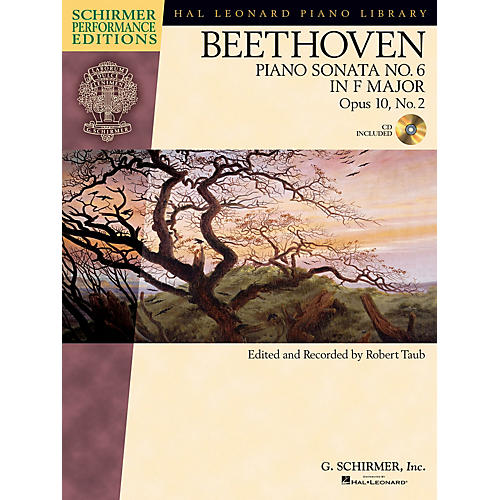 G. Schirmer Beethoven: Sonata No 6 in F Maj Op 10 No 2 Schirmer Performance Edition BK/CD by Beethoven Edited by Taub-thumbnail