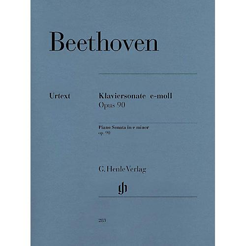 G. Henle Verlag Beethoven: Sonata No. 27 in E Minor, Opus 90 Henle Music Folios Series Softcover-thumbnail