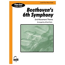 SCHAUM Beethoven's 6th Symphony (duet) Educational Piano Series Softcover