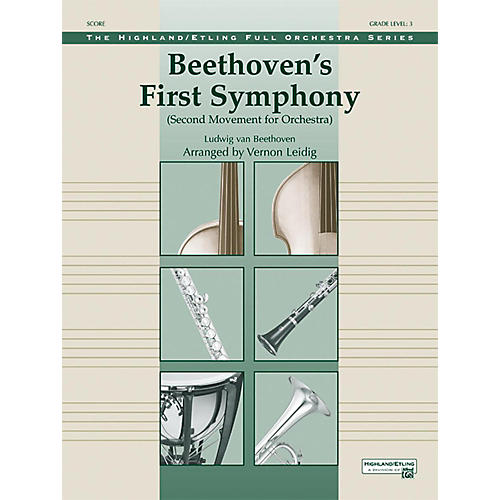 Alfred Beethoven's First Symphony Grade 3-thumbnail
