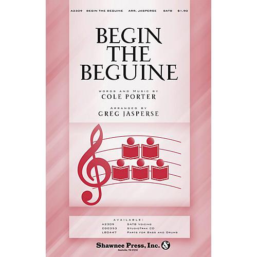 Shawnee Press Begin the Beguine SATB arranged by Greg Jasperse-thumbnail