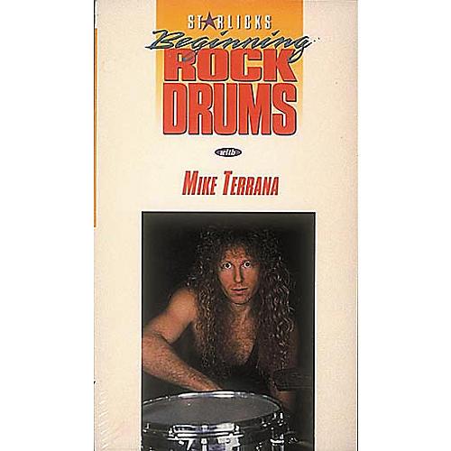 Hal Leonard Begining Rock Drums Video Package
