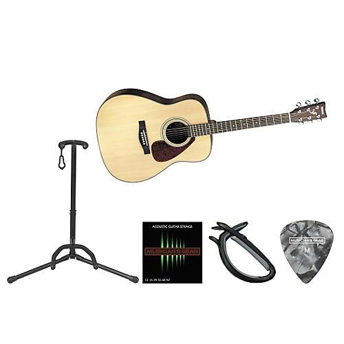 Yamaha Beginner Acoustic-Electric Guitar Bundle