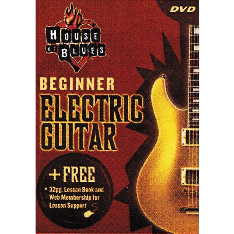 Rock House Beginner Electric Guitar (DVD)