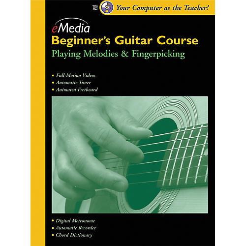 Emedia Beginner's Guitar Course, Vol. 3 (CD-ROM)-thumbnail