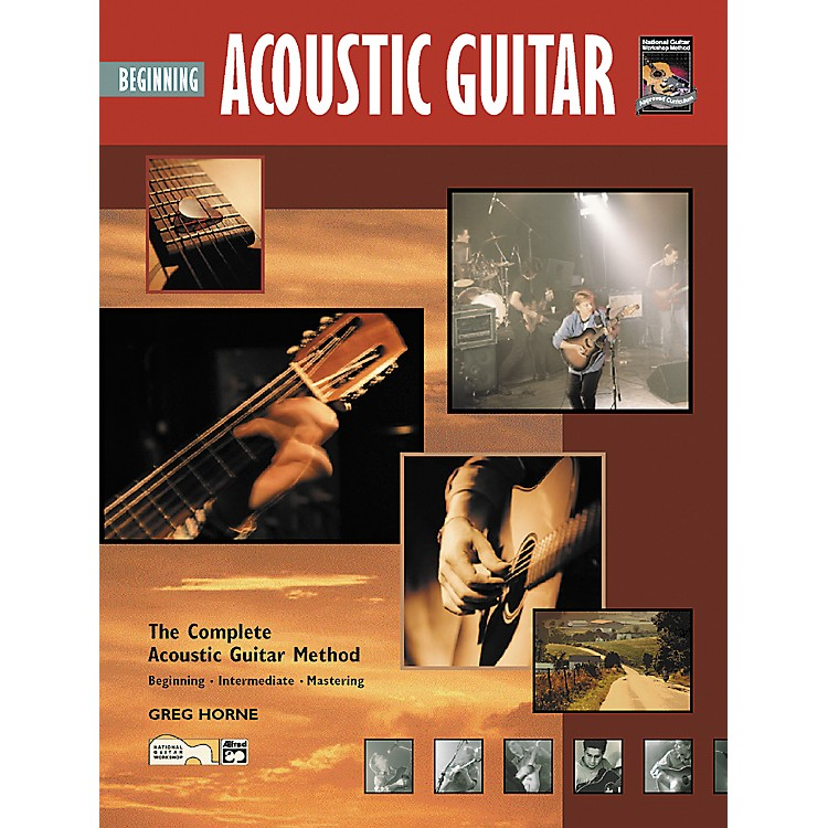 Alfred Beginning Acoustic Guitar (Book/CD)