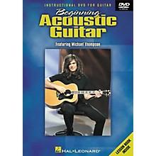 Hal Leonard Beginning Acoustic Guitar (DVD)