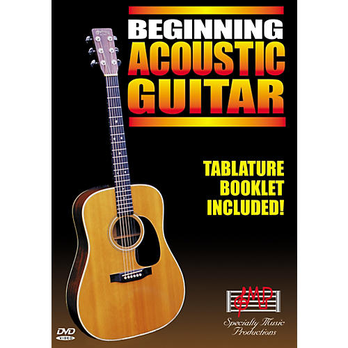 Specialty Music Productions Beginning Acoustic Guitar (DVD)-thumbnail