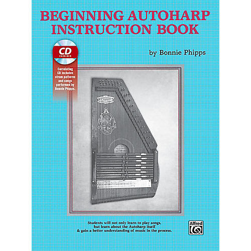 Alfred Beginning Autoharp Instruction Book & CD
