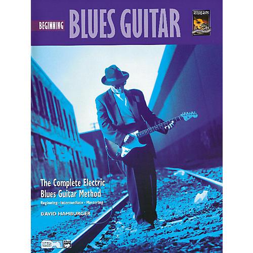 Alfred Beginning Blues Guitar (Book/CD)