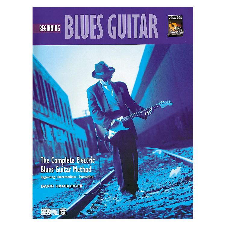 AlfredBeginning Blues Guitar (Book/CD)