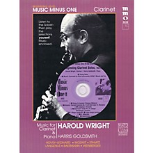 Music Minus One Beginning Clarinet Solos - Volume 2 Music Minus One Series BK/CD Performed by Harold Wright