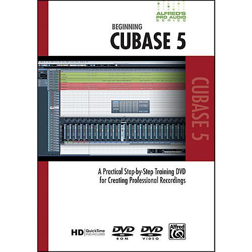 Alfred Beginning Cubase 5 (DVD)