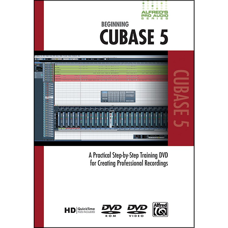 AlfredBeginning Cubase 5 (DVD)