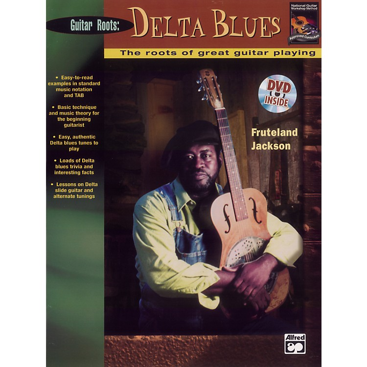 Alfred Beginning Delta Blues Guitar (Book/DVD)