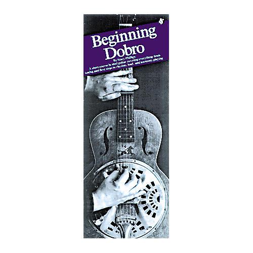 Music Sales Beginning Dobro Compact Reference Book-thumbnail