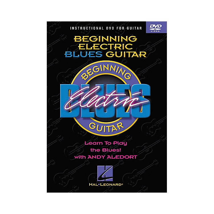 Hal Leonard Beginning Electric Blues Guitar (DVD)