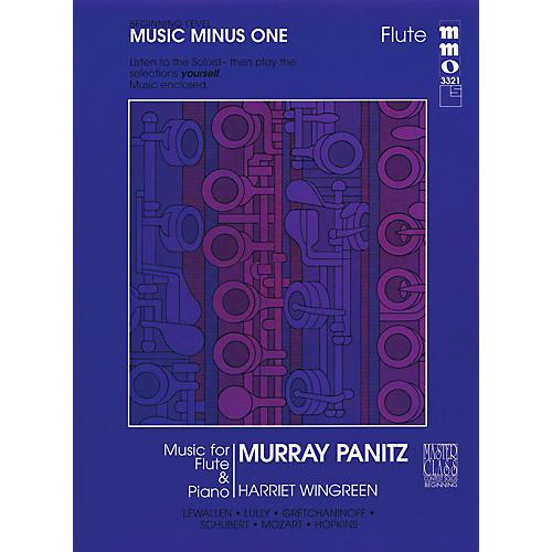 Music Minus One Beginning Flute Solos - Volume 1 Music Minus One Series-thumbnail