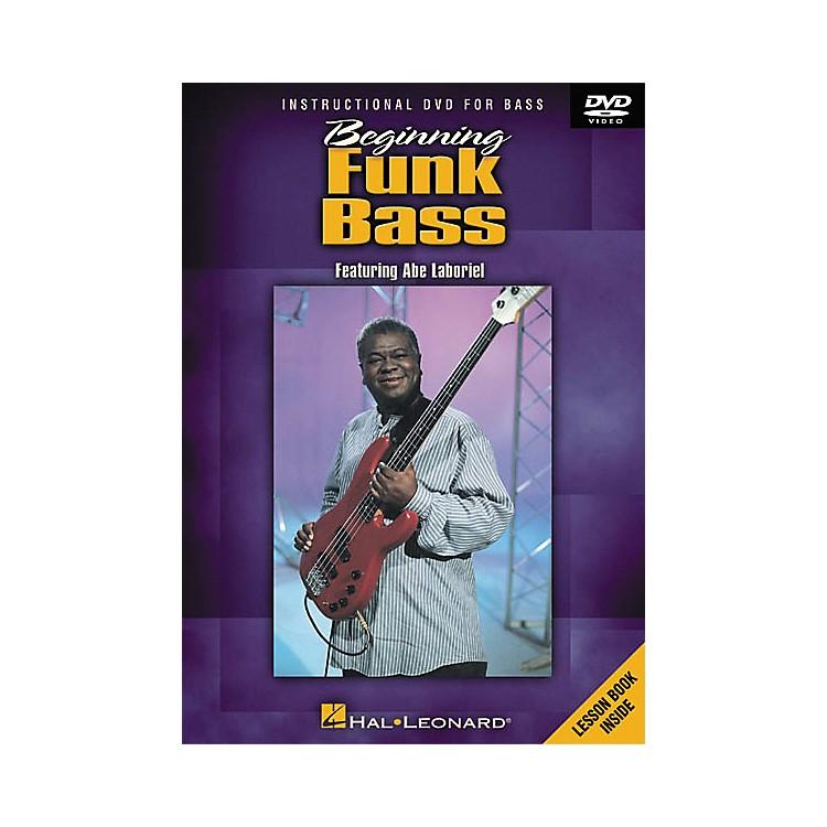 Hal LeonardBeginning Funk Bass (DVD)
