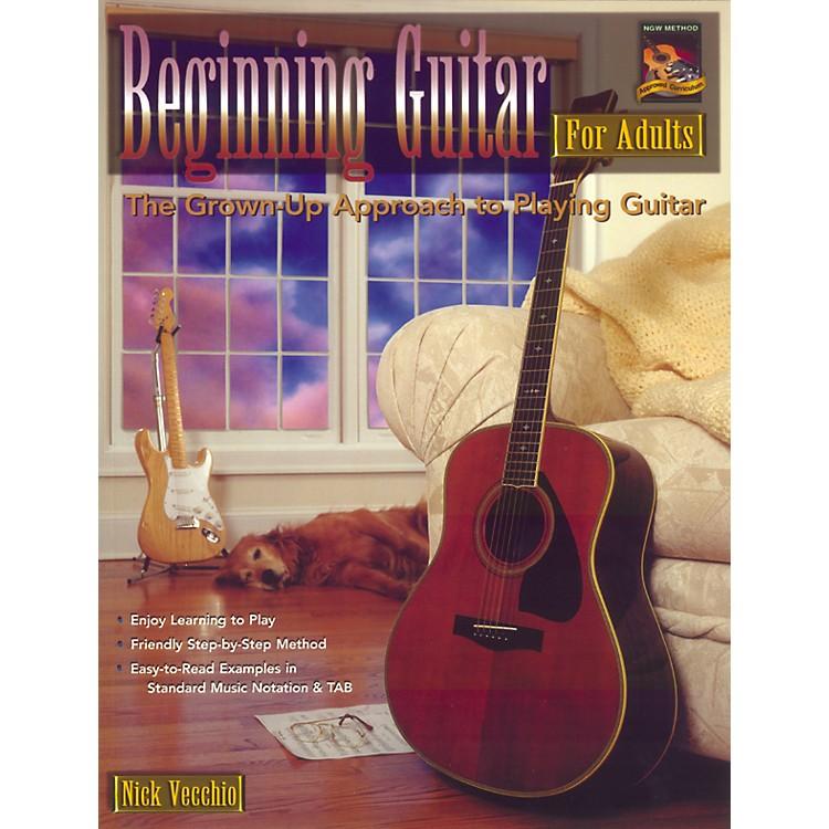AlfredBeginning Guitar For Adults (Book/DVD)