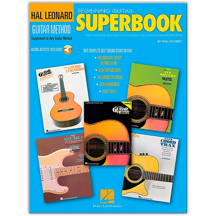 Hal Leonard Beginning Guitar Superbook (Book and CD Package)