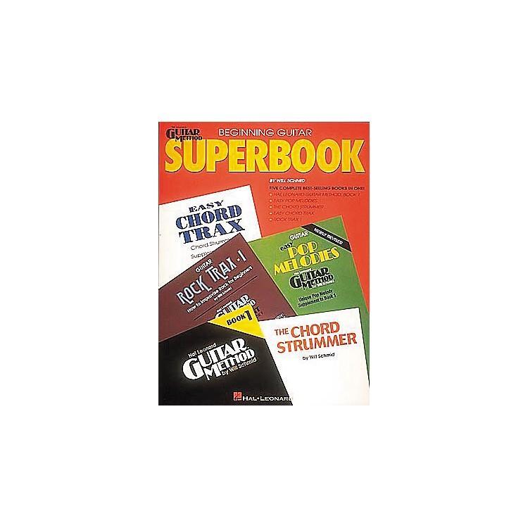 Hal LeonardBeginning Guitar Superbook