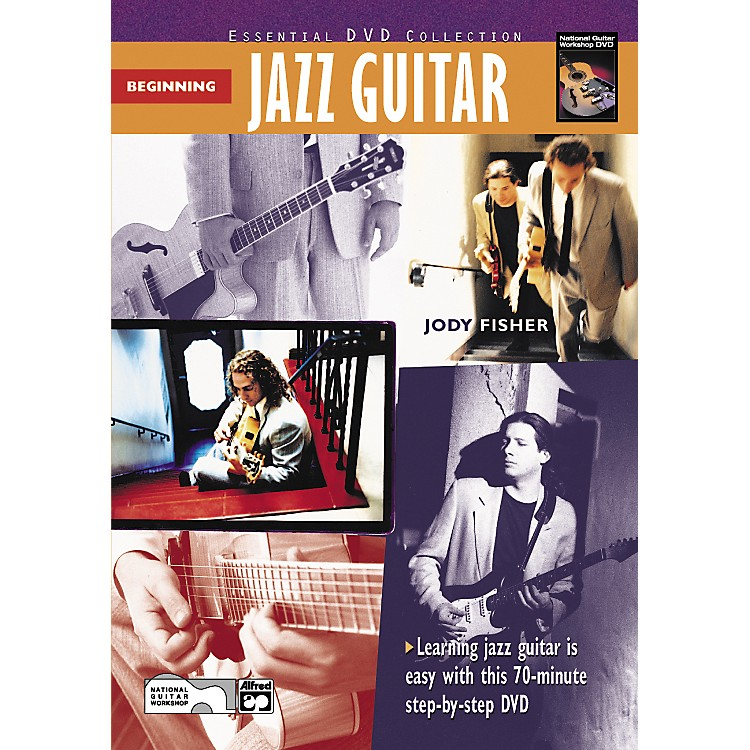 Alfred Beginning Jazz Guitar (Book/DVD)