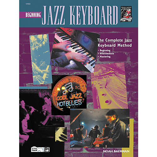 Alfred Beginning Jazz Keyboard (Book/CD)