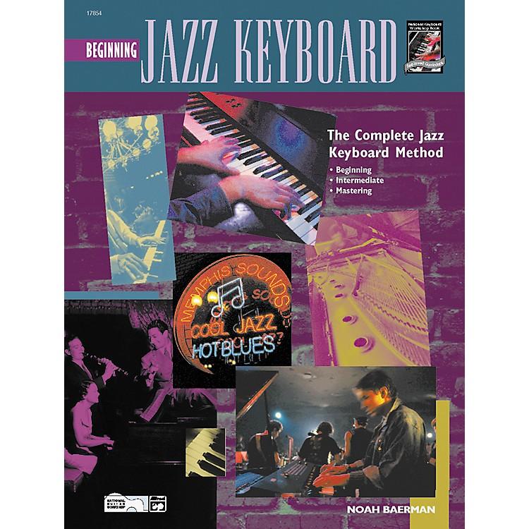 AlfredBeginning Jazz Keyboard (Book/CD)