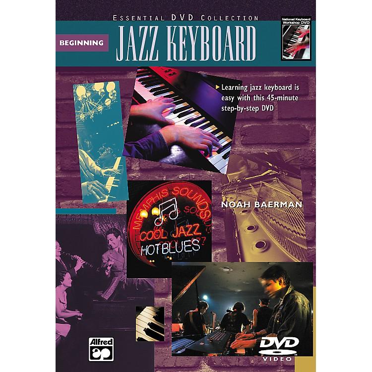 AlfredBeginning Jazz Keyboard (Book/DVD)