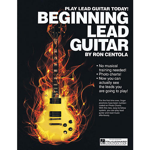 CSI Beginning Lead Guitar Book Series Softcover Written by Ron Centola-thumbnail