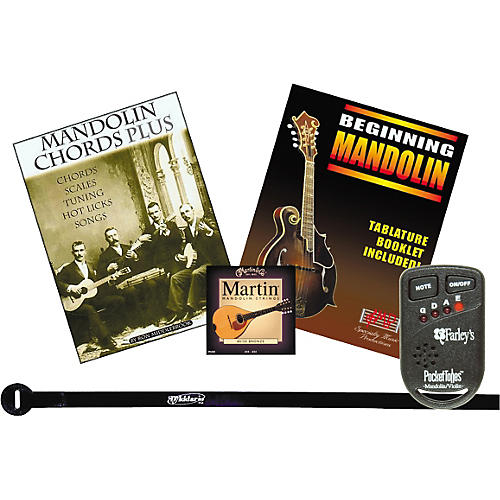 Musician's Gear Beginning Mandolin Instructional Pack