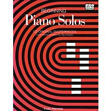 Carl Fischer Beginning Piano Solos