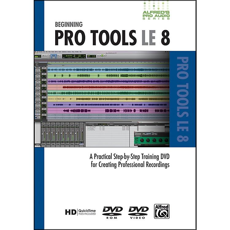 AlfredBeginning ProTools LE 8 (DVD)