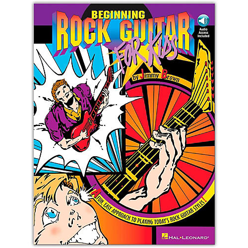 Hal Leonard Beginning Rock Guitar for Kids (Book/CD)
