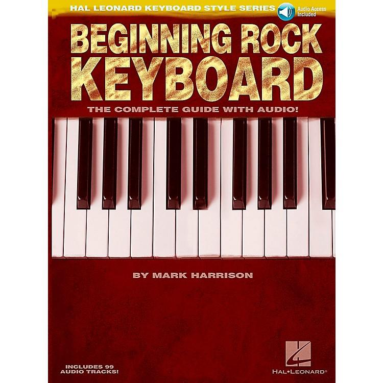 Hal LeonardBeginning Rock Keyboard (Book/CD) - Hal Leonard Keyboard Style Series