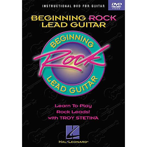 Hal Leonard Beginning Rock Lead Guitar (DVD)