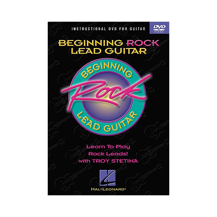 Hal Leonard Beginning Rock Lead Guitar (DVD)