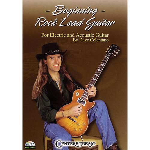 Centerstream Publishing Beginning Rock Lead Guitar Instructional/Guitar/DVD Series DVD Written by Dave Celentano-thumbnail