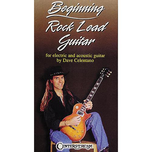 Centerstream Publishing Beginning Rock Lead Guitar VHS